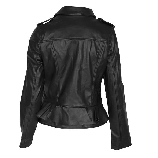 Dámská bunda s volánem bata, černá, 971-6213 - 26