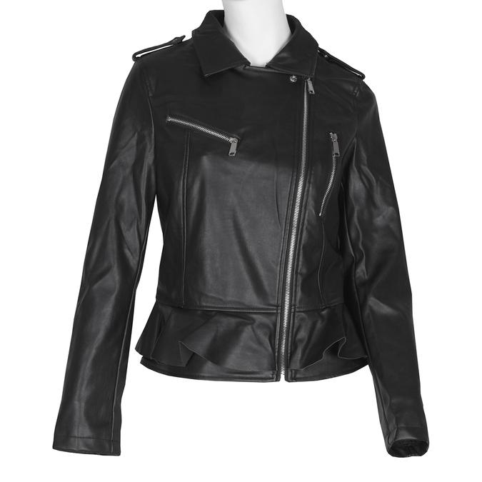 Dámská bunda s volánem bata, černá, 971-6213 - 13
