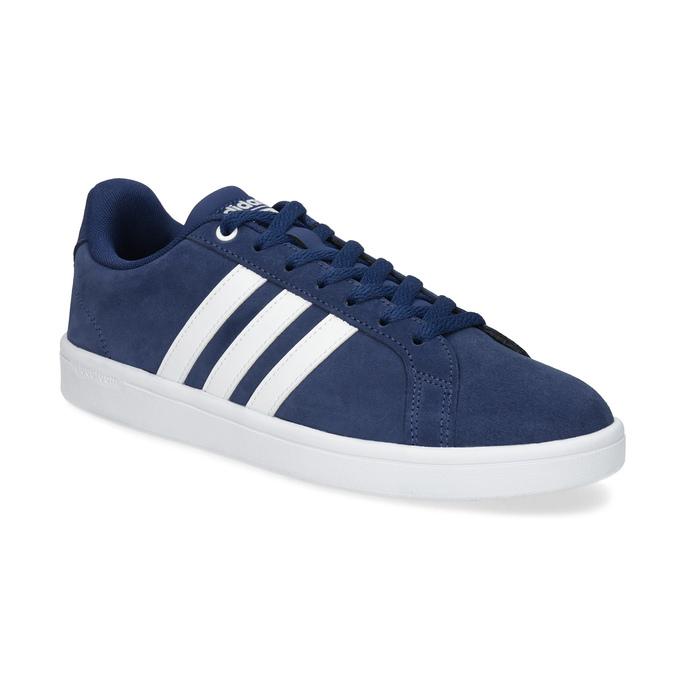 Pánské tenisky z broušené kůže modré adidas, modrá, 803-9120 - 13