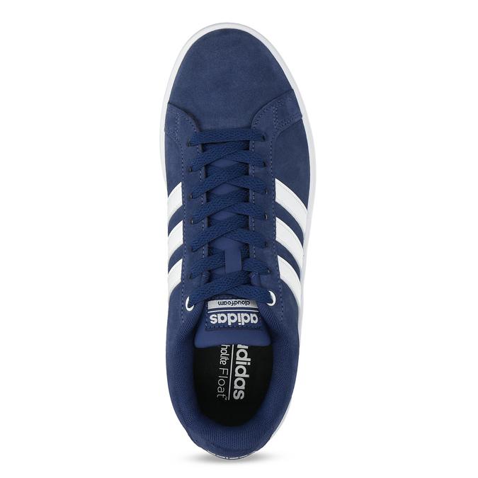 Pánské tenisky z broušené kůže modré adidas, modrá, 803-9120 - 17