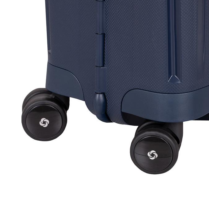 Kvalitní skořepinový kufr samsonite, modrá, 960-9321 - 16