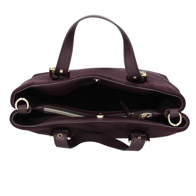 Dámská vínová kabelka bata, červená, 969-5691 - 15