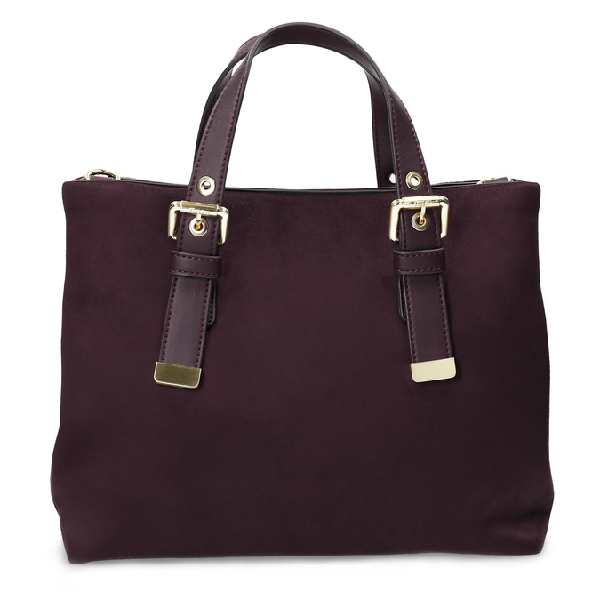 Dámská vínová kabelka bata, červená, 969-5691 - 26