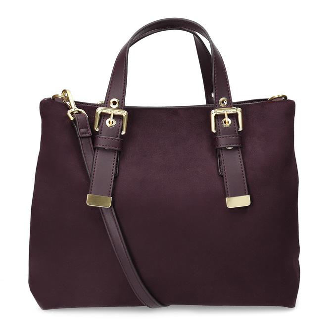 Dámská vínová kabelka bata, červená, 969-5691 - 16