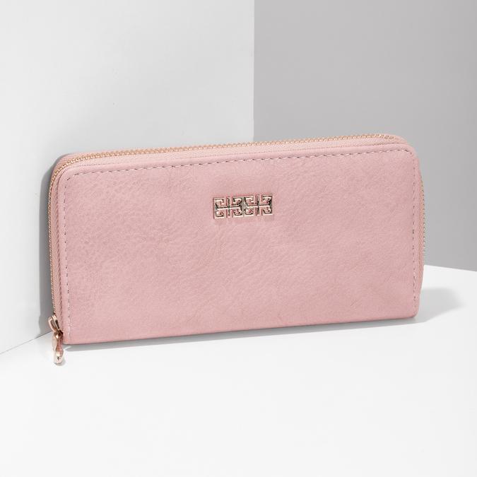 růžová dámská peněženka bata, vícebarevné, růžová, 941-0180 - 17