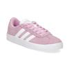 Dětské tenisky z broušené kůže růžové adidas, růžová, 303-5212 - 13