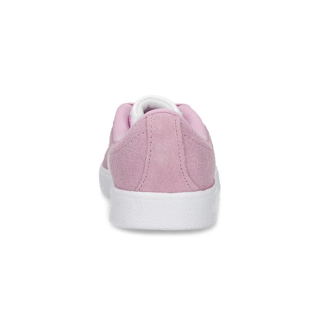 Dětské tenisky z broušené kůže růžové adidas, růžová, 303-5212 - 15