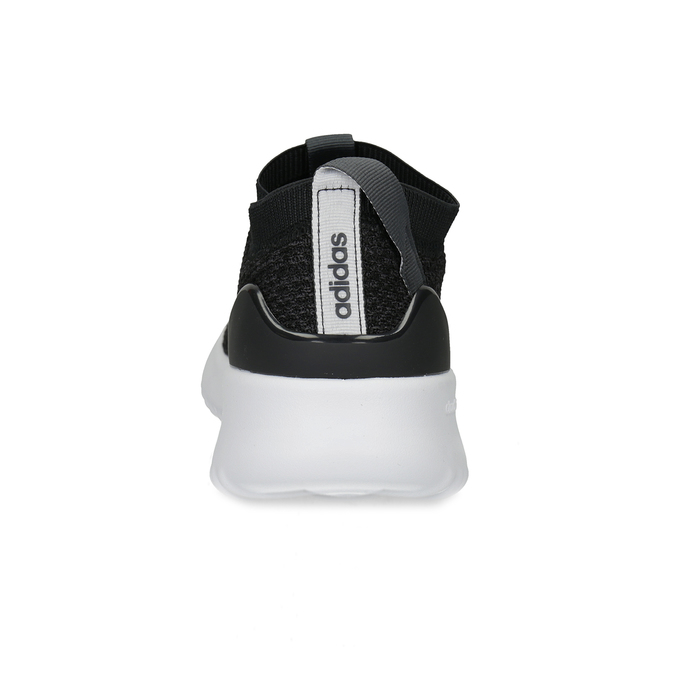 Dámské sportovní slip-on z úpletu černé adidas, černá, 509-6128 - 15