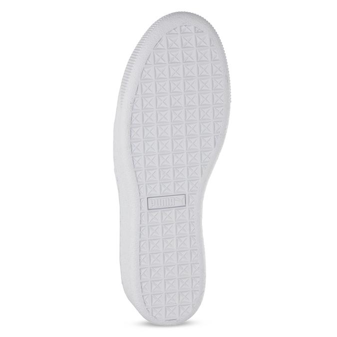 Dětské třpytivé tenisky na flatformě puma, šedá, 401-2392 - 18