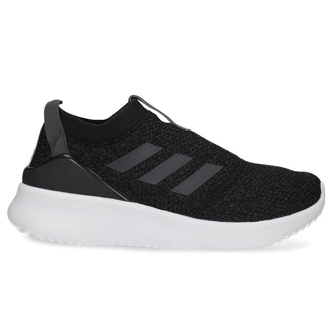 Dámské sportovní slip-on z úpletu černé adidas, černá, 509-6128 - 19