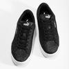 Dětské třpytivé tenisky na flatformě černé puma, černá, 401-6392 - 16