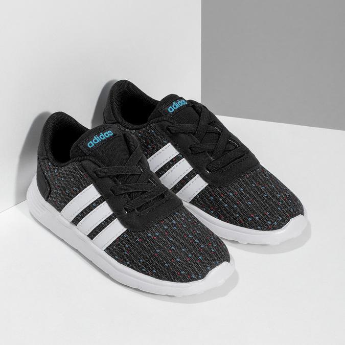 Dětské sportovní tenisky černo-modré adidas, černá, 109-6200 - 26