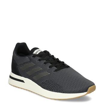 Pánské tenisky s výraznou podešví adidas, černá, 809-6163 - 13
