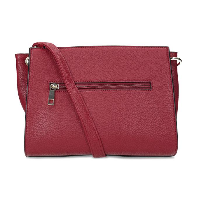 Červená kabelka se zámečkem bata-red-label, červená, 961-5902 - 16