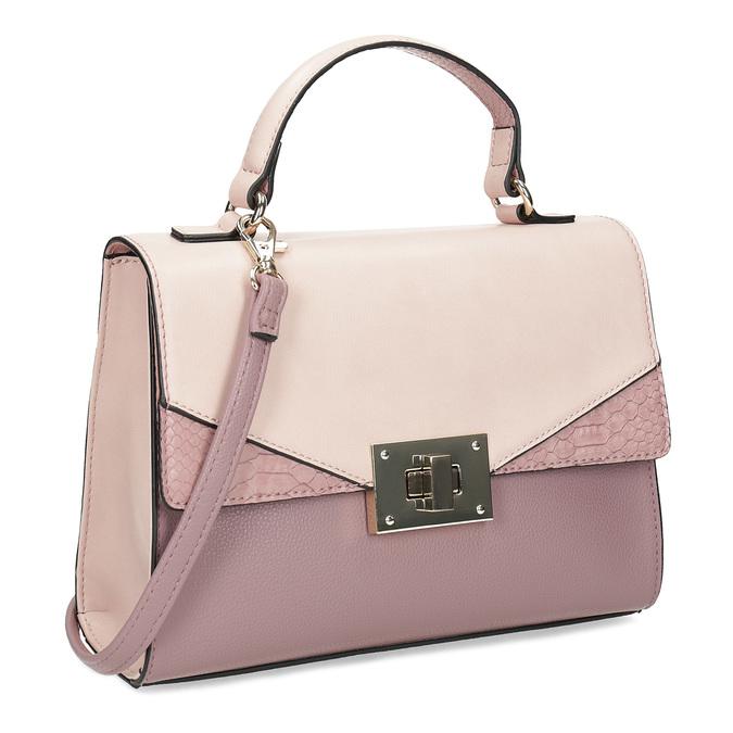Starorůžová dámská kabelka bata-red-label, růžová, 961-9892 - 13
