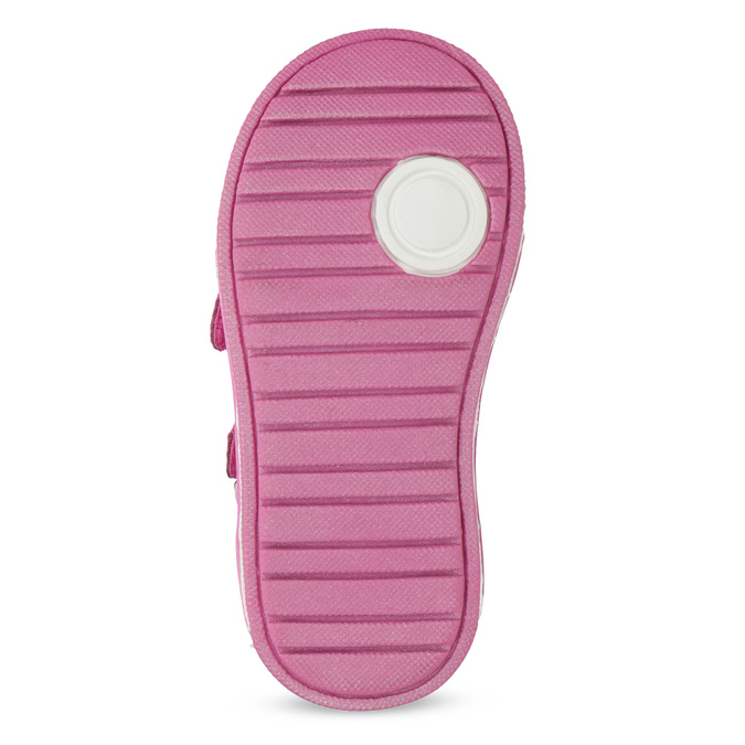Růžová kotníčková obuv na suché zipy bubblegummers, 121-5618 - 18