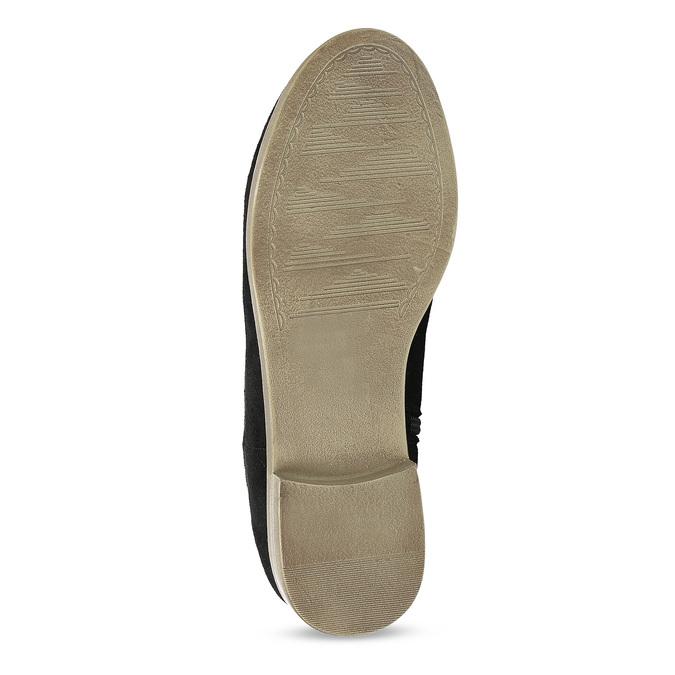 Dámské kotníčkové kozačky bata, černá, 599-6614 - 18