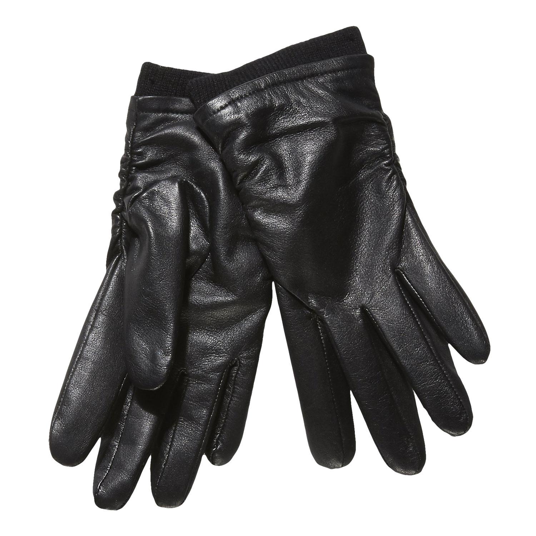Kožené dámské rukavice