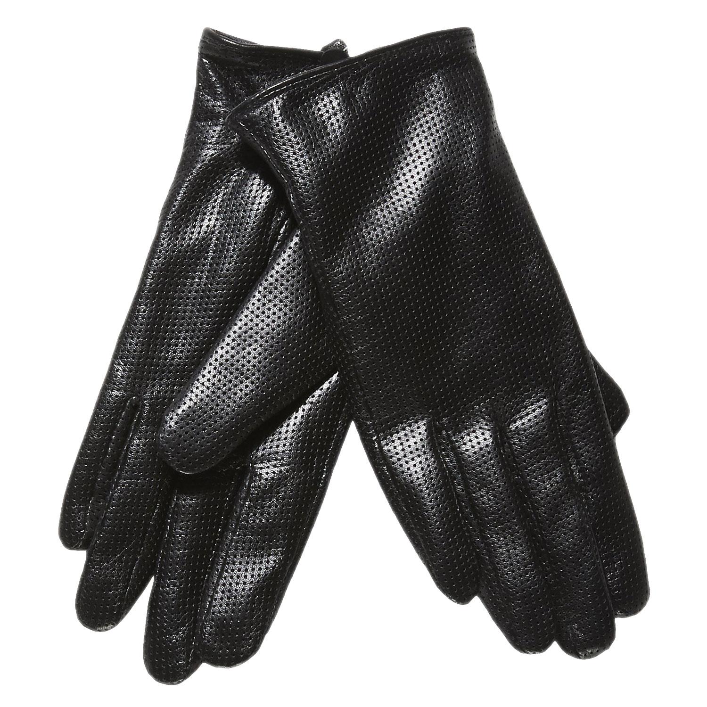 Dámské kožené rukavice s perforací