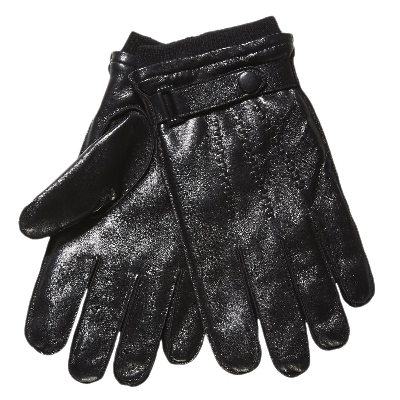 Pánské kožené rukavice s úpletem e14f631b5a