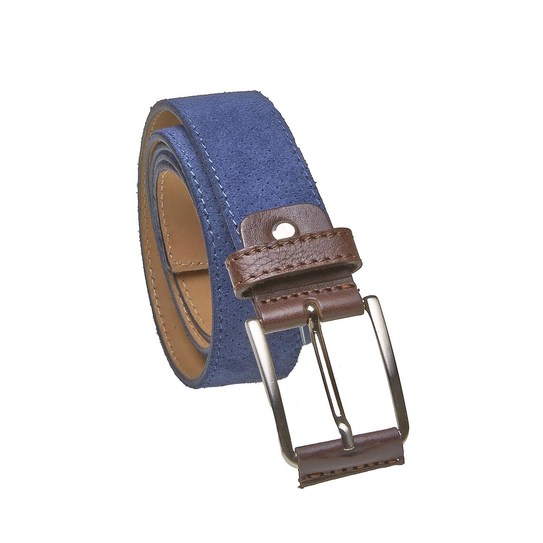 Kožený pánský pásek s perforací