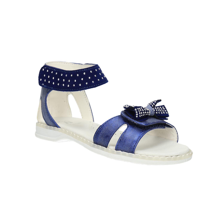 Dívčí sandály s mašlí