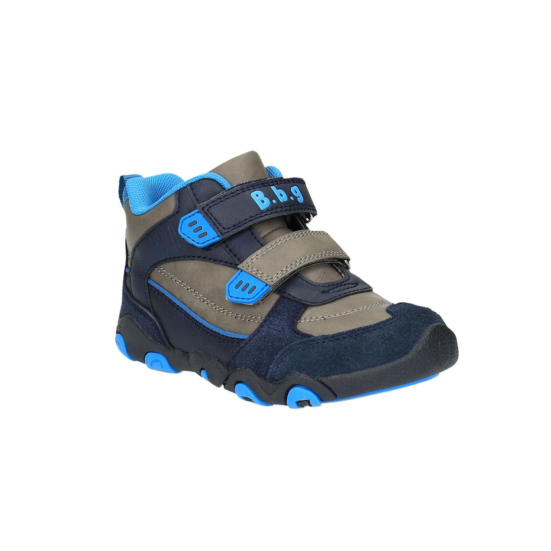 Chlapecká kotníčková obuv na suché zipy
