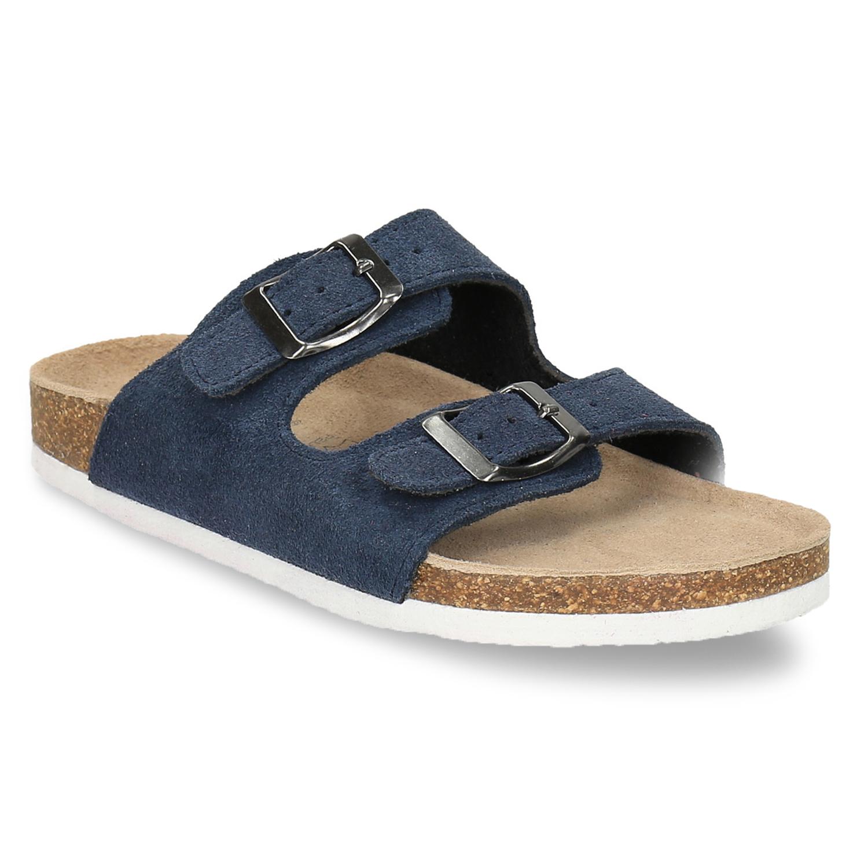 Dziecięce niebieskie pantofle - 3739600