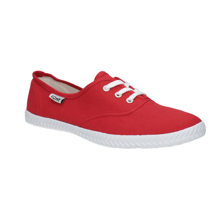 Červené dámské tenisky