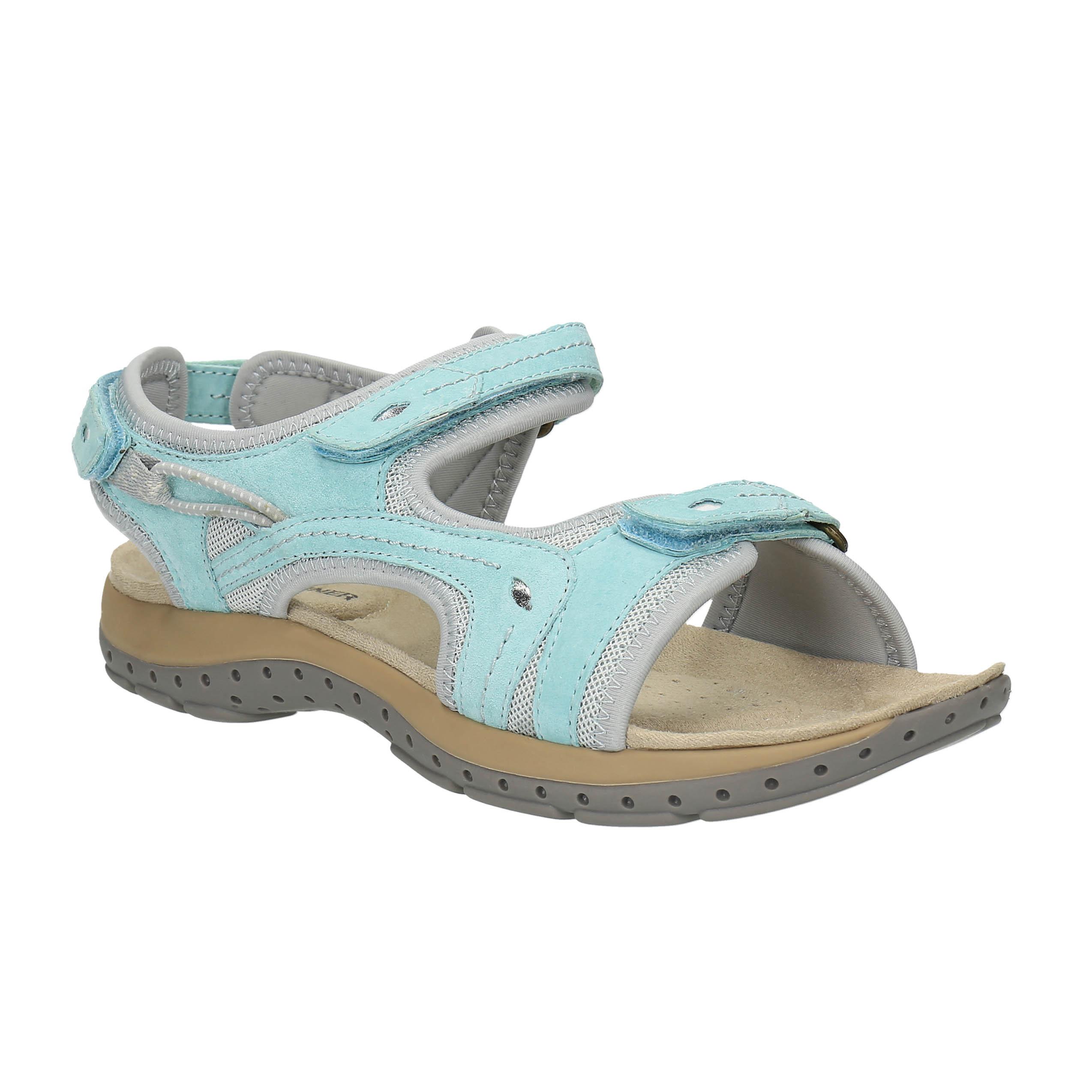 Dámské kožené sportovní sandály
