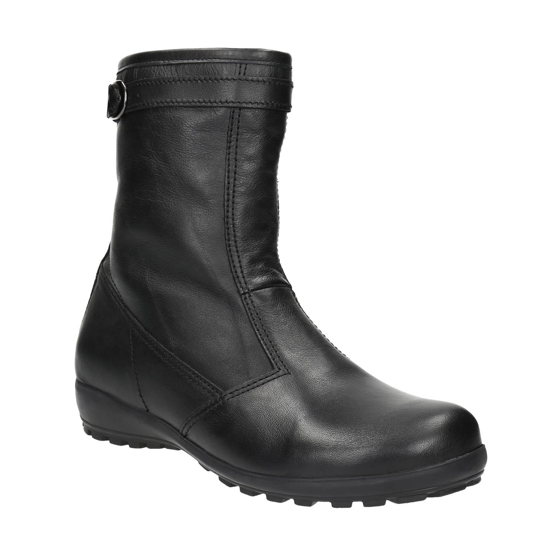 Kožená zimní obuv dámská