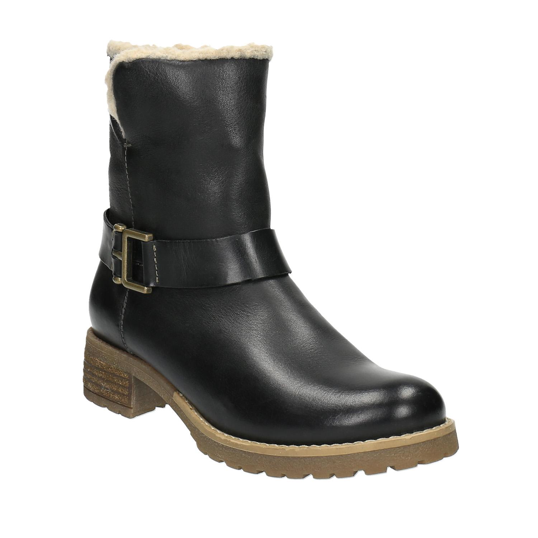 Dámská obuv s kožíškem