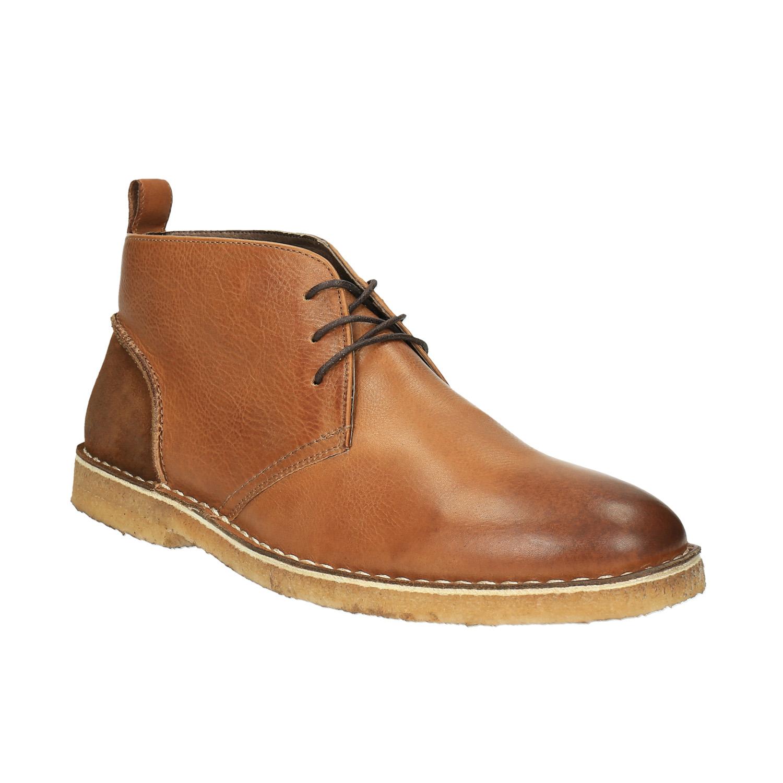Skórzane buty typu chukka - 8243665