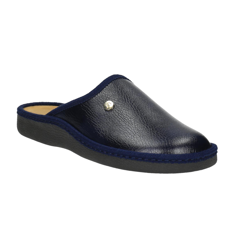 Pánská domácí obuv s uzavřenou špicí