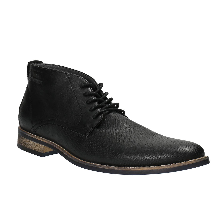 Pánská kotníčková obuv černá