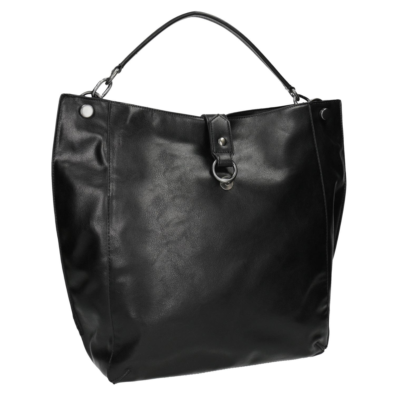 Czarna torba w stylu Hobo - 9616808
