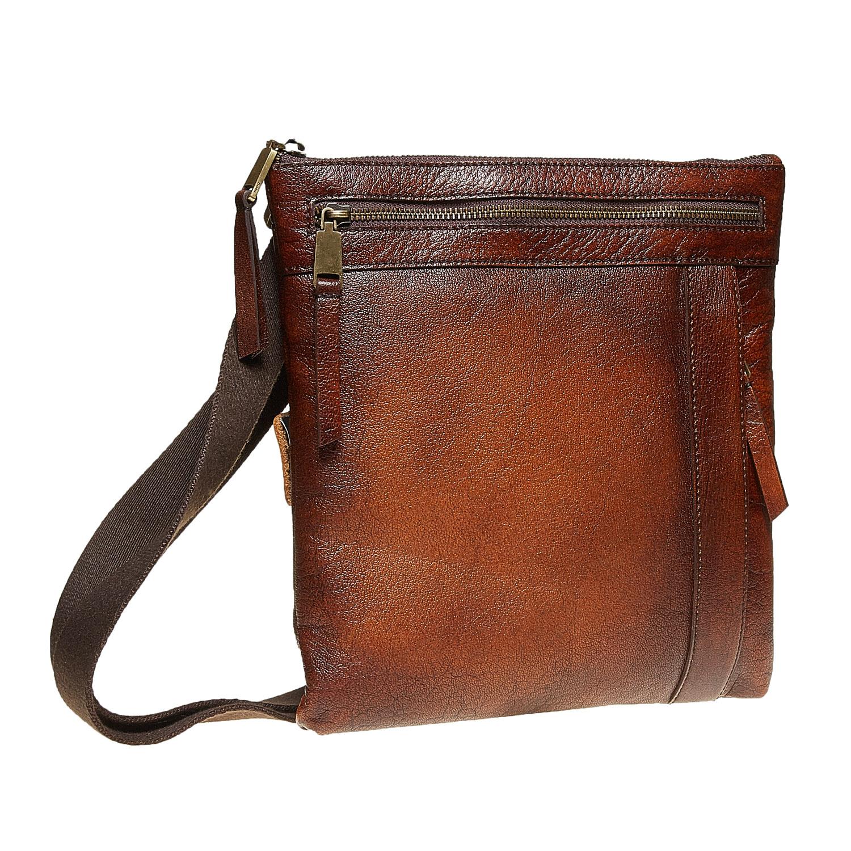 Męska skórzana torba Crossbody - 9644138