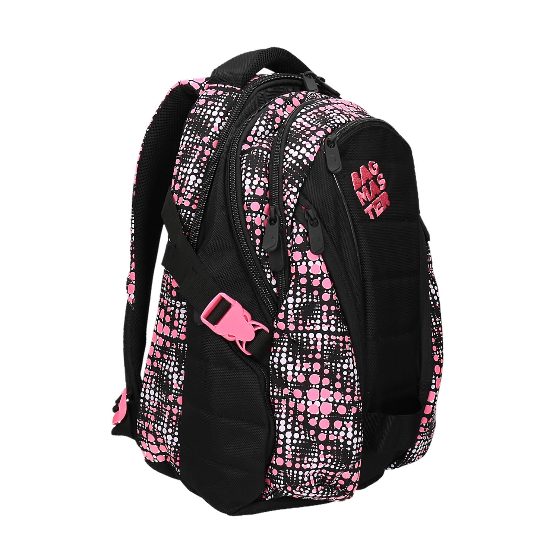 Dziewczęcy szkolny plecak z nadrukiem - 9695615