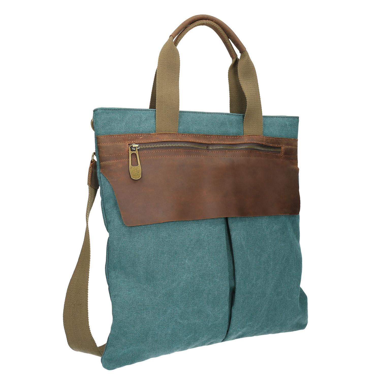 Textilní kabelka s popruhem
