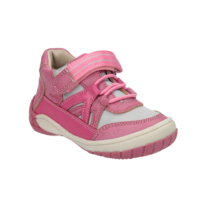 Dětská kotníčková obuv růžová