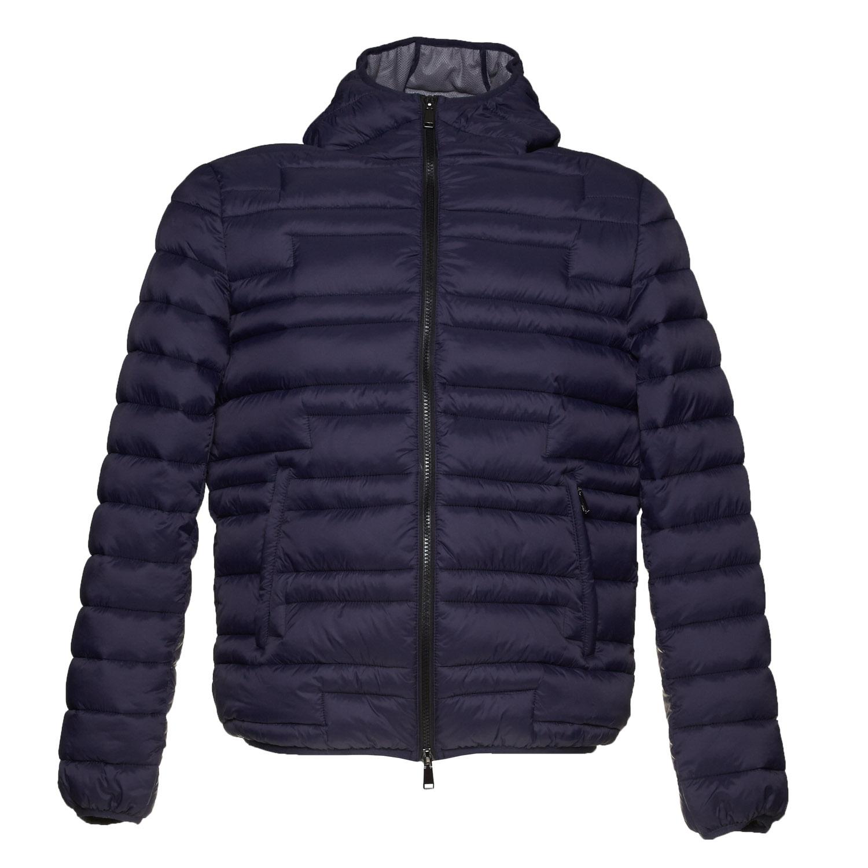 Pánská zimní bunda s kapucí