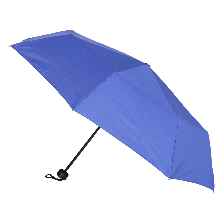 Skládací modrý deštník