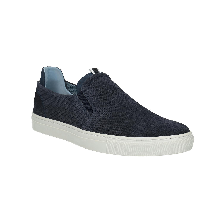 Pánská kožená Slip-on obuv