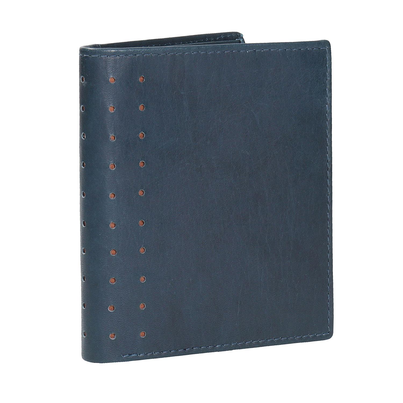 Kožená peněženka s perforací