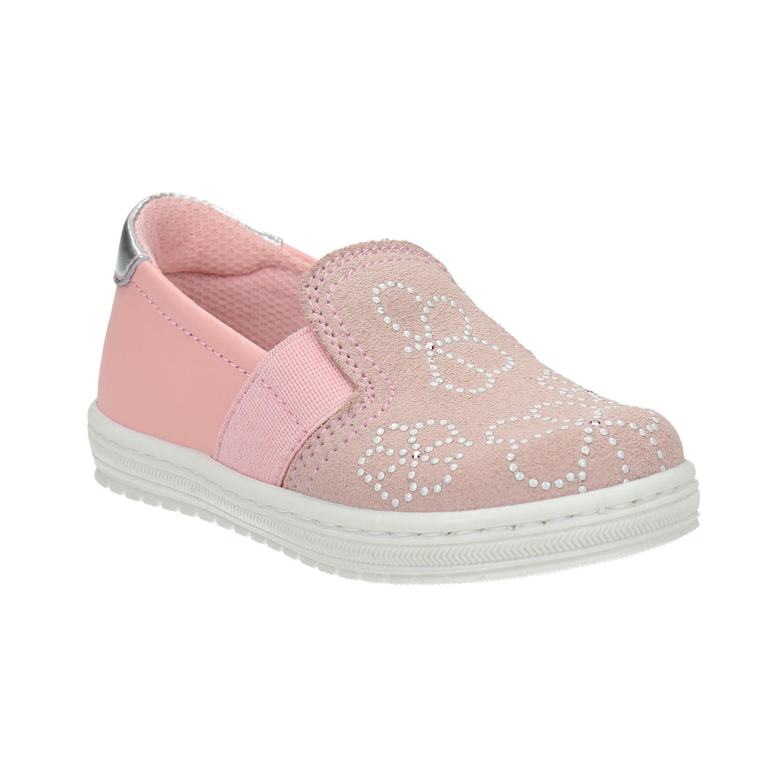 Dětská kožená Slip-on obuv