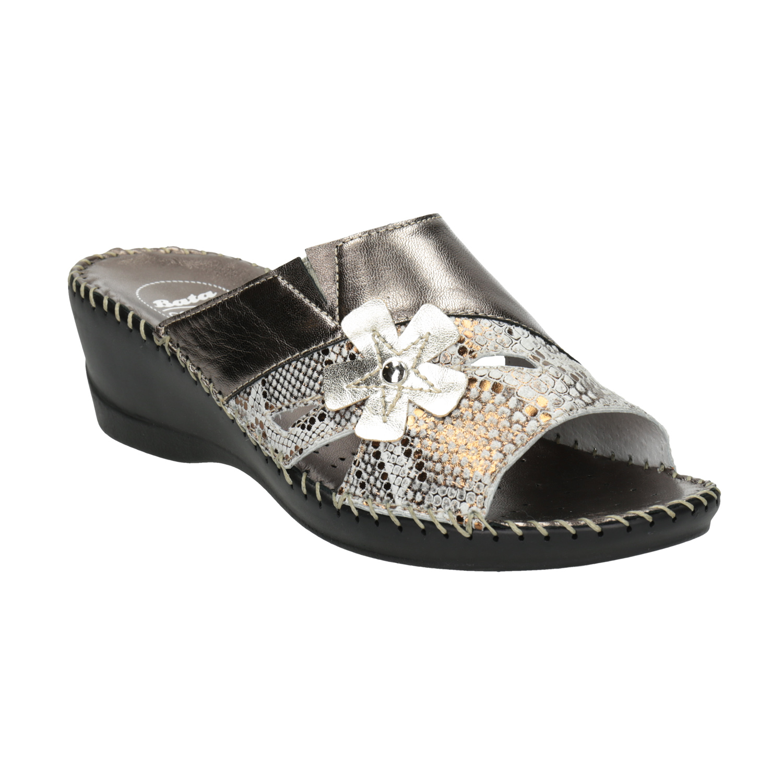 Kožená domácí obuv