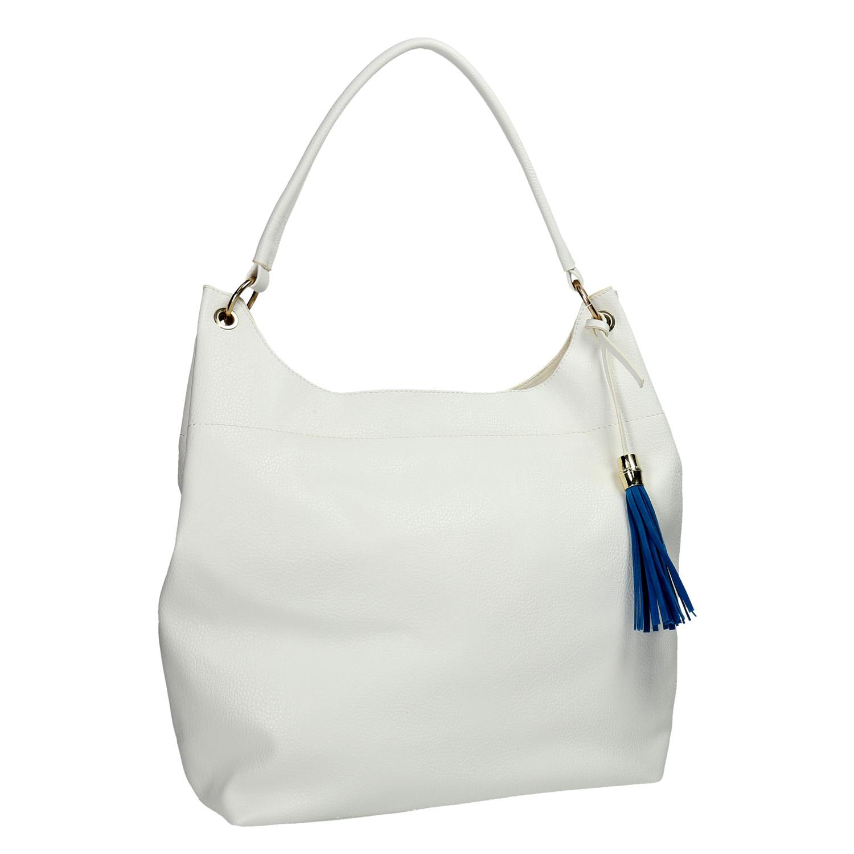 Biała torba zniebieskim chwostem - 9611688