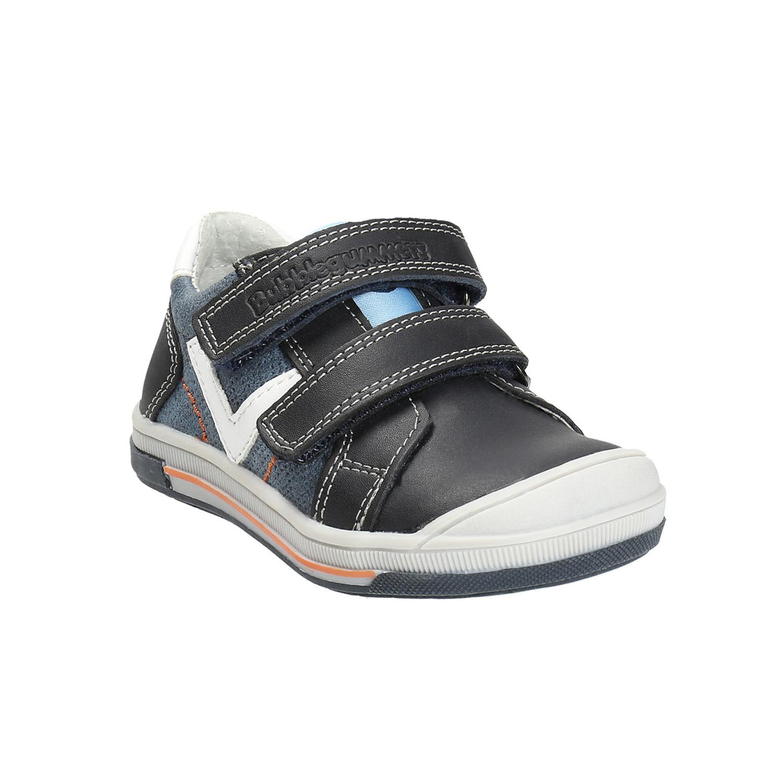 Dětské kožené boty na suché zipy