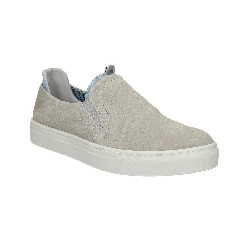 Dámská kožená Slip-on obuv
