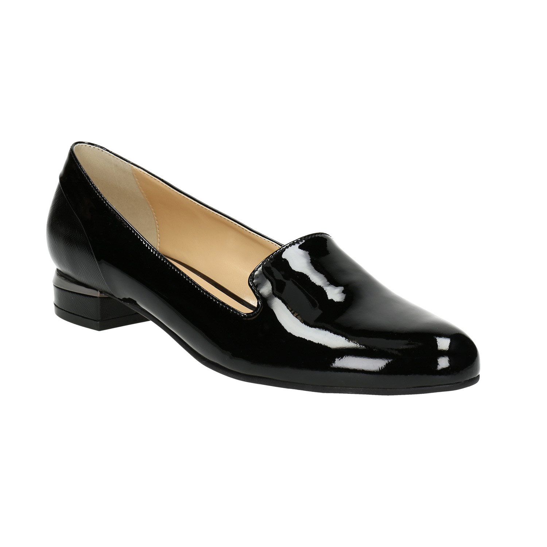 Lakované dámské Loafers